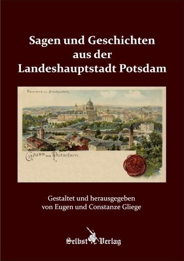 """Vorderansicht des Buches """"Sagen und Geschichten aus Potsdam"""""""