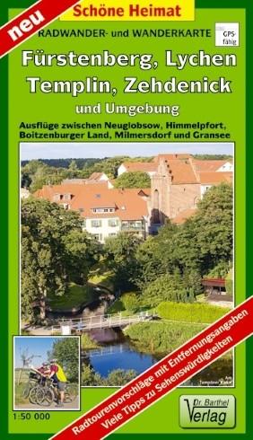 Fürstenberg, Lychen, Templin, Zehdenick und Umgebung