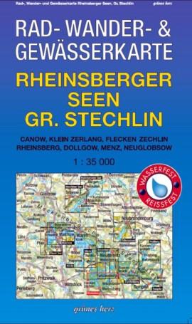 Rheinsberger Seen. Großer Stechlin
