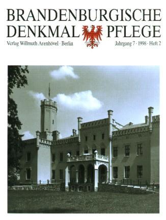 Brandenburgische Denkmalpflege 1998 - Heft 2