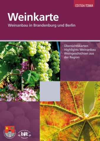 Weinkarte, Weinanbau in Brandenburg und Berlin
