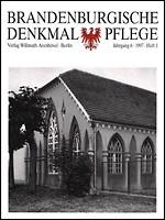 Brandenburgische Denkmalpflege 1997 - Heft 1