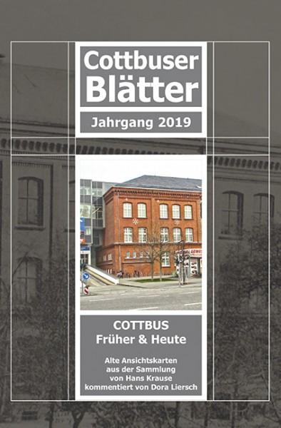 Cottbuser Blätter - Cottbus Früher und Heute