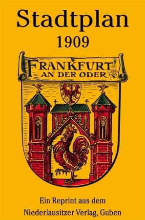 Stadtplan Frankfurt (Oder) 1909