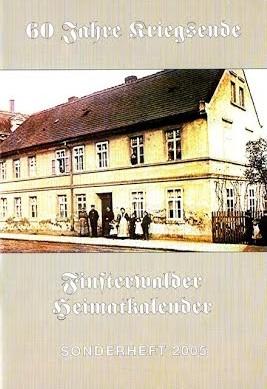 Finsterwalder Heimatkalender - Sonderheft 2005
