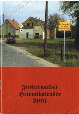 Finsterwalder Heimatkalender 2001