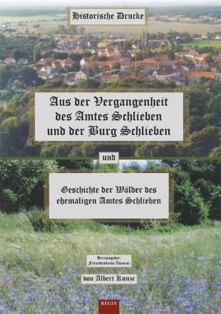 Aus der Vergangenheit von Amt und Burg Schlieben
