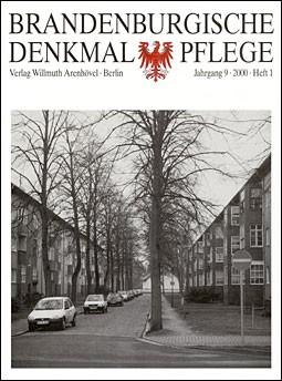 Brandenburgische Denkmalpflege 2000 - Heft 1