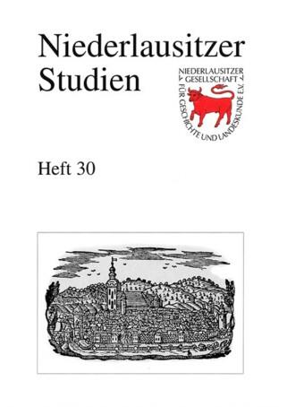 Niederlausitzer Studien - Heft 30 / 2001
