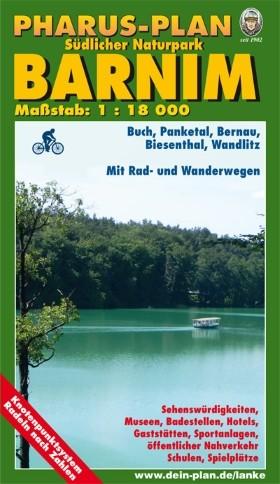 Pharus-Plan Südlicher Naturpark Barnim 1:18 000