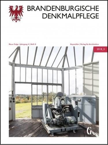 Brandenburgische Denkmalpflege 2018 - Heft 2