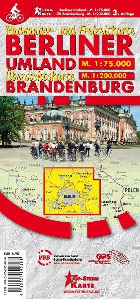 Berliner Umland. Radwander- und Freizeitkarte 1:75 000