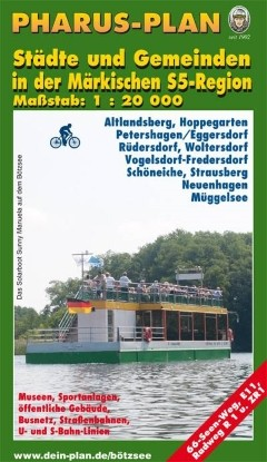 Städte und Gemeinden in der Märkischen S-5-Region