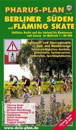 Pharus-Plan Berliner Süden und Fläming Skate
