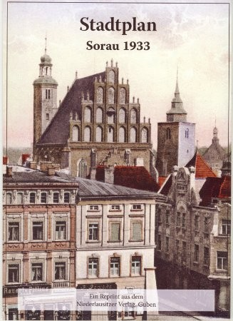 Stadtplan Sorau 1933