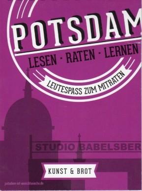 Potsdam-Rätsel-Buch - Kunst und Brot