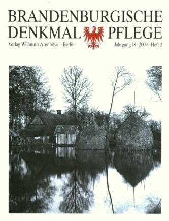 Brandenburgische Denkmalpflege 2009 - Heft 2
