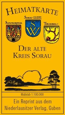 Heimatkarte - Der alte Kreis Sorau (um 1939)