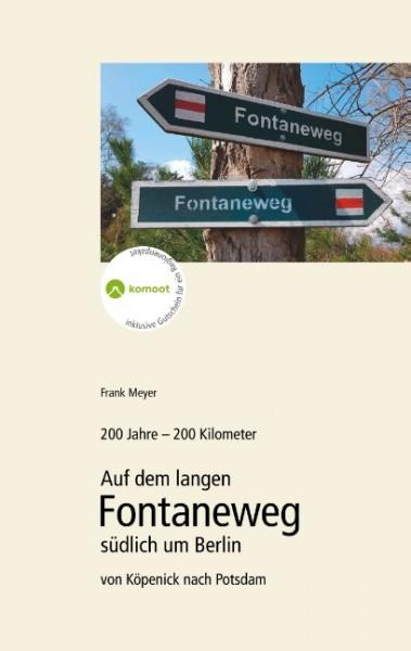 Auf dem langen Fontaneweg südlich um Berlin