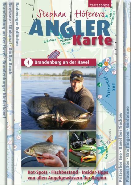 Stephan Höferers Angler-Karte 2 - Dahme, Spree, Müggelsee