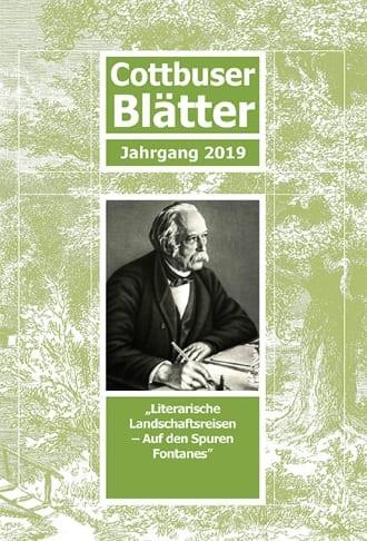 Cottbuser Blätter - Jahrgang 2019