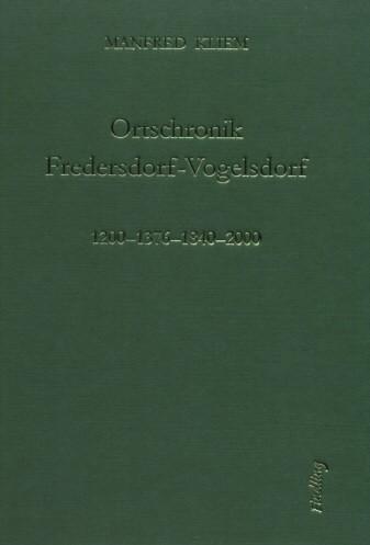 Ortschronik Fredersdorf-Vogelsdorf