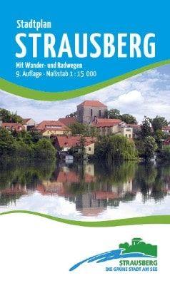 Stadtplan Strausberg 1:15 000