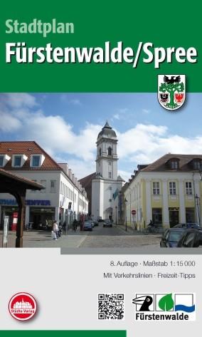 Stadtplan Fürstenwalde / Spree 1:15 000
