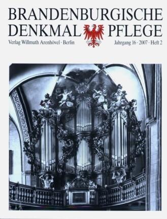 Brandenburgische Denkmalpflege 2007 - Heft 2