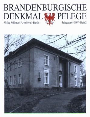 Brandenburgische Denkmalpflege 1997