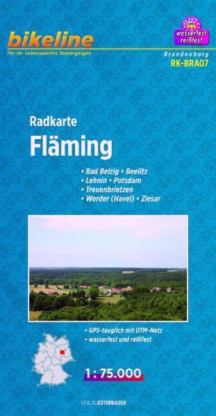 Radkarte Fläming 1:75 000