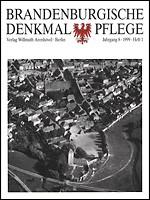 Brandenburgische Denkmalpflege 1999 - Heft 1