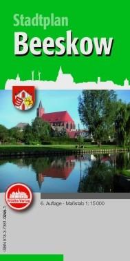 Stadtplan Beeskow (mit Anzeigen)