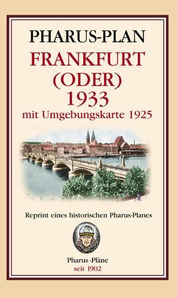 Pharus-Plan Frankfurt (Oder) 1933