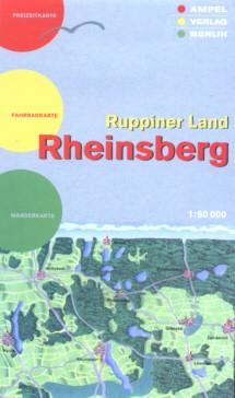 Rheinsberg / Ruppiner Land - Freizeitkarte 1: 60 000