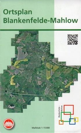 Ortsplan Blankenfelde-Mahlow 1:15 000