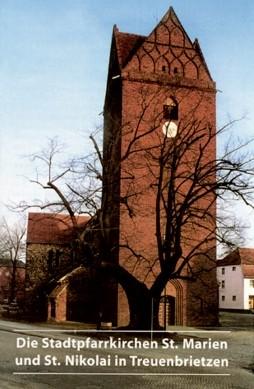 Die Stadtpfarrkirchen St. Marien und St. Nikolai in Treuenbrietz