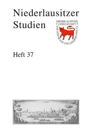 Niederlausitzer Studien - Heft 37 / 2011