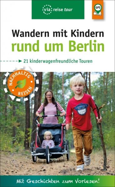 Vorderansicht des Buches Wandern mit KIndern rund um Berlin