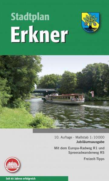 Stadtplan Erkner 1:10 000