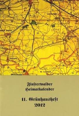 Finsterwalder Heimatkalender - 11. Grünhausheft 2012