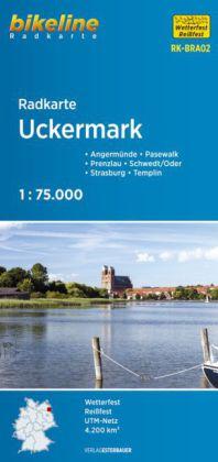 Radkarte Uckermark 1:75 000