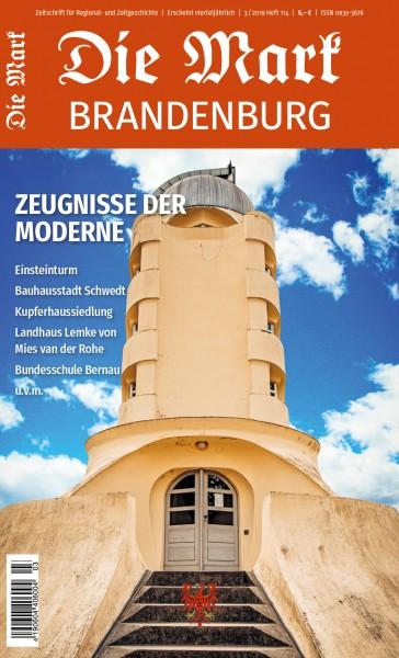 Zeugnisse der Moderne - Die Mark Brandenburg - Heft 114