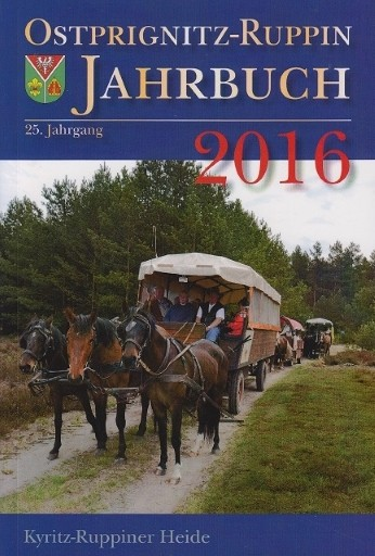 Jahrbuch Ostprignitz-Ruppin 2016