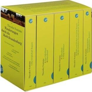 Wanderungen durch die Mark Brandenburg - 5 Bände