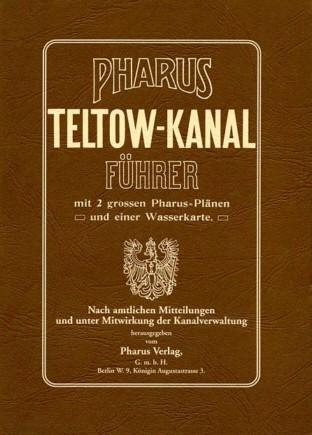 Pharus Teltow-Kanal Führer 1906
