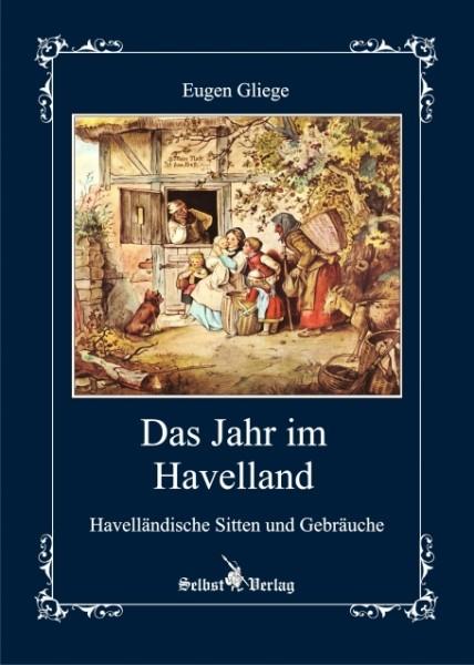 """Vordersansicht des Buches """"Das Jahr im Havelland"""""""