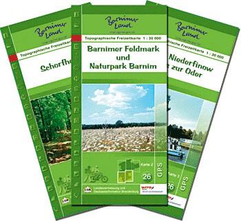 Set Freizeitkarten Barnimer Land
