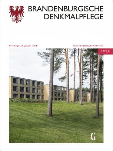 Brandenburgische Denkmalpflege 2019 - Heft 2