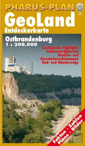 Pharus GeoLand Entdeckerkarte Ostbrandenburg 1:300 000